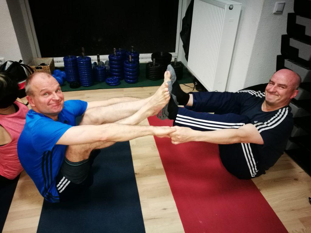 Bier-Yoga
