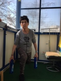 Renate macht Lunges