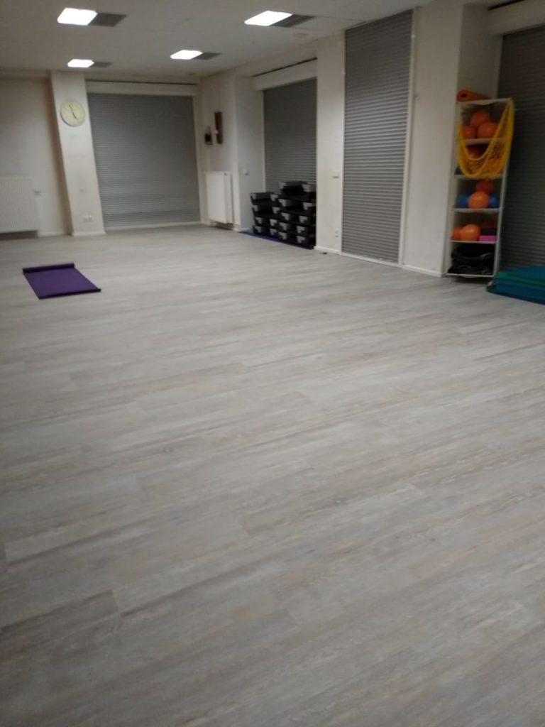 Neuer Fußboden